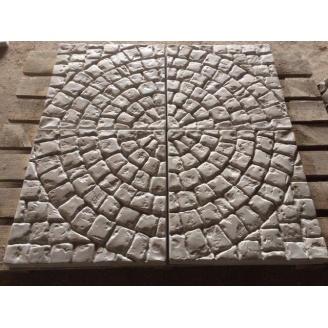 Тротуарна плитка Коло 450х450х45 мм сіра