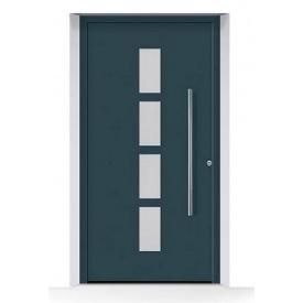 Алюминиевые входные двери Hormann ThermoSafe мотив 501 875х1875 мм