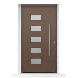 Алюминиевые входные двери Hormann ThermoSafe мотив 502 875х1875 мм