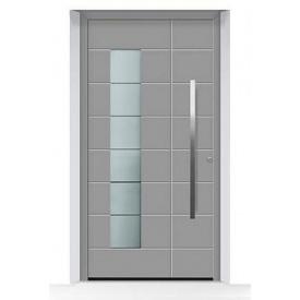 Алюминиевые входные двери Hormann ThermoSafe мотив 867 875х1875 мм