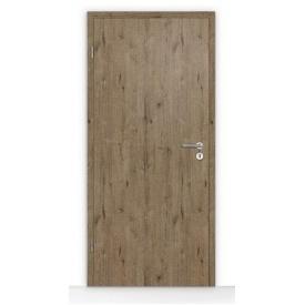 Внутренние деревянные двери Hormann BaseLine Duradecor структурные 735x1985 мм темный дуб