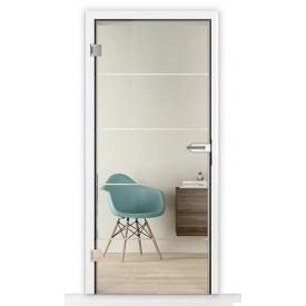 Внутренние стеклянные двери Horman GlassLine GrooveGlass 15-10 709x1972 мм