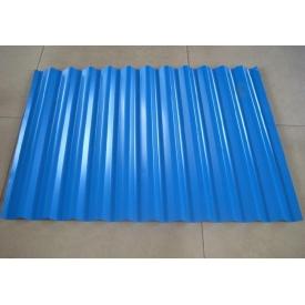Профнастил С-8 0,4 мм 10 мм синий