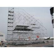 Оренда модульних будівельного риштування Layher 1,09x2x2,07 м