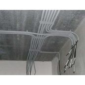 Укладка провода в гофре в квартире