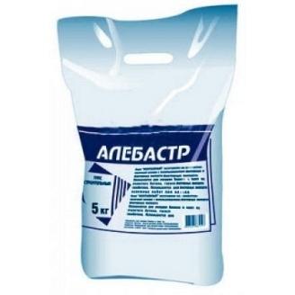 Гіпс будівельний Алебастр Г-5 5 кг