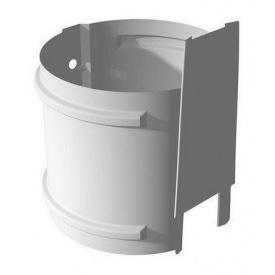 Кріплення труби Ruukki на цегляну стіну 100 мм білий