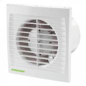 Вентилятор Домовент 150 С АБС пластик 24 Вт 286 м3/год 150 мм
