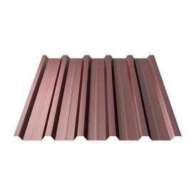 Профнастил Ruukki RanTech 20 A Polyester Matt 45 мм шоколадний (Копія)