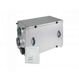 Припливно-витяжна установка Vents ВУТ 600 Г алюмоцинк 600 м3/год 416х603х722 мм
