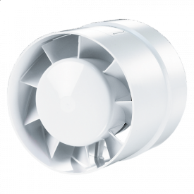 Вентилятор Домовент 100 ВКО АБС пластик 14 Вт 105 м3/час 100 мм