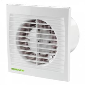 Вентилятор Домовент 100 С1 АБС пластик 14 Вт 94 м3/год 100 мм