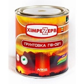 Грунтовка по металлу Химрезерв ГФ-021 2,7 кг красно-коричневая