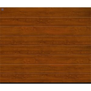 Ворота гаражні секційні Hormann RenoMatic light 5000x2500 мм Golden Oak decocolor