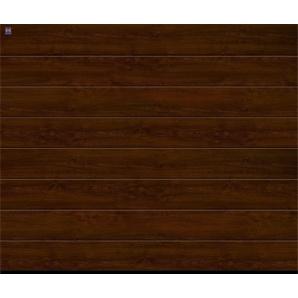 Ворота гаражні секційні Hormann RenoMatic light 3000x3000 мм Dark Oak decocolor