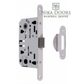 Дверной замок Rodos 410С хромированный