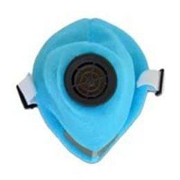 Респиратор флизелиновый синий