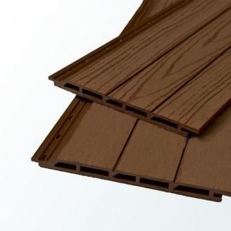 Фасадная доска с текстурой дерева TardeX 191х16x2200 мм венге