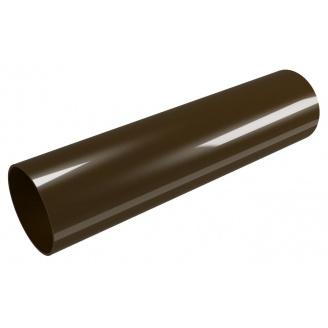 Водосточная труба Devorex Classic 80 мм 3 м коричневая