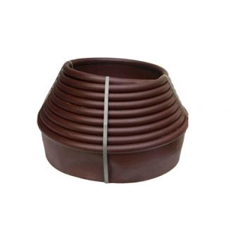 Бордюрная лента 0,10х9 м коричневая