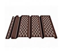 Cофит DOCKE Т4 с полной перфорацией 3,05х0,305 м шоколад