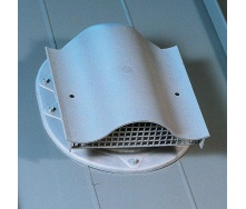 Вентиль кровельный KTV FELT 450 х 378 мм серый