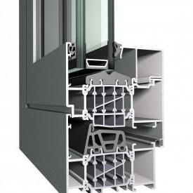 Алюминиевое окно Reynaers CS 86-HI белое