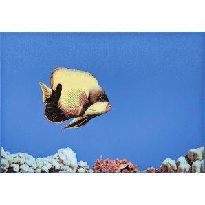 Плитка декоративна АТЕМ Monocolor Fish 1 400x275 мм