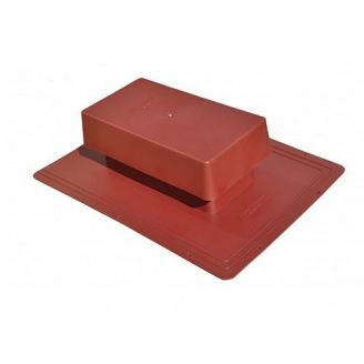 Вентиль кровельный стандарт 398х283 мм красный