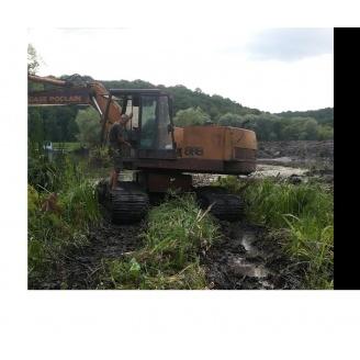 Аренда болотного экскаватора CASA 888