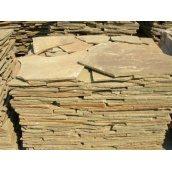 Песчаник облицовочный 1 см коричневый