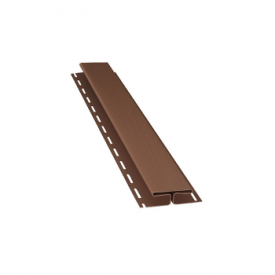 H-планка BudMat 3000 мм темно-коричневая