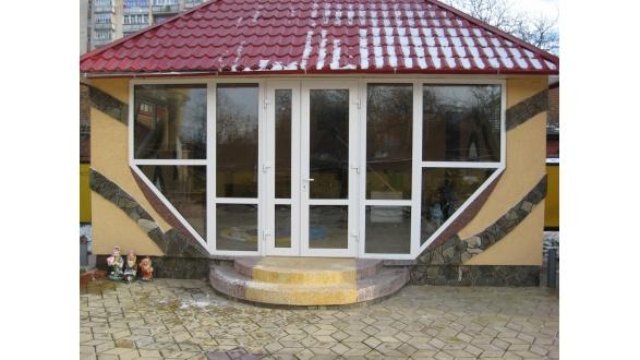 Металлопластиковые окна и двери (готовые работы)