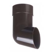 Отвод Docke Standard 86 мм шоколад