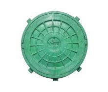 Люк смотровой 315 мм зеленый