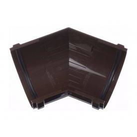 Кут жолоба Docke Standard 135 градусів шоколад