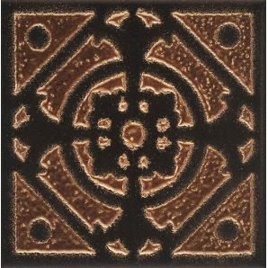 Плитка декоративна АТЕМ VEGAS Vegas 1 BK 100x100 мм