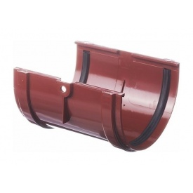 Соединитель желоба Docke Standard гранат