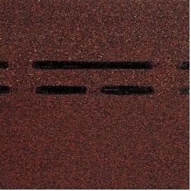 Коньково-карнизная черепица Docke PIE GOLD 1000х333х3,1 мм чернослив