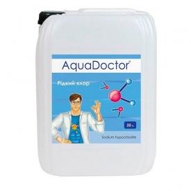 Дезінфектант рідкий хлор AquaDoctor C15-L для автоматичних дозаторів 20 л
