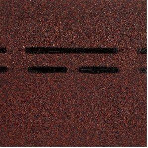 Гребенево-карнизна черепиця Docke PIE GOLD 1000х333х3,1 мм чорнослив