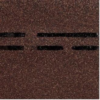 Коньково-карнизная черепица Docke PIE GOLD 1000х333х3,1 мм чили