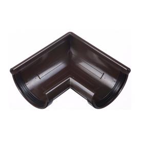 Угол желоба Docke Lux 90 градусов шоколад