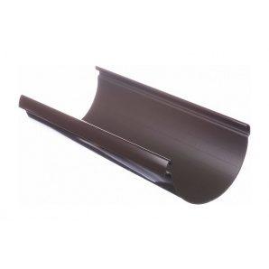 Жолоб водостічний Docke Lux 141 мм 3 м шоколад