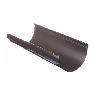 Желоб водосточный Docke Lux 141 мм 3 м шоколад