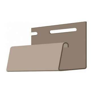 Фасадний J-профіль Docke 3000х30х50 мм бежевий
