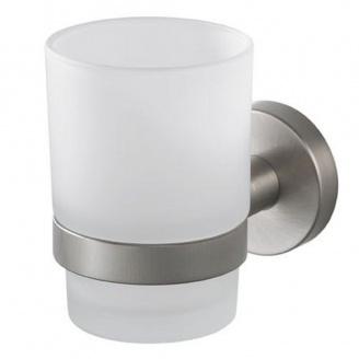 Стакан для зубных щеток одинарный стекло Haceka Kosmos TEC 402402 Хасеке Космос