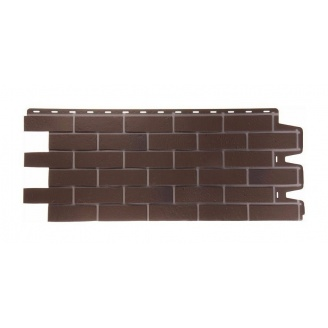 Фасадна панель Docke Berg Braunberg 1127х461 мм коричневий