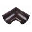 Кут жолоба Docke Lux 90 градусів шоколад