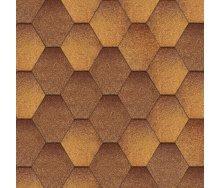 Битумная черепица Aquaizol Мозаика 320х1000 мм осенний клен